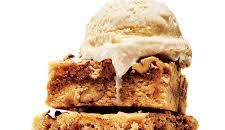 Blondies with brown butter and pecans