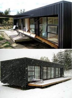 Container small house design with protection 001