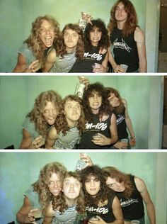 Metallica with Cliff Burton - lol ;-):-D