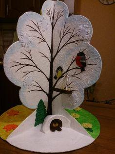 Мастер-класс «Дерево «Времена года». Воспитателям детских садов, школьным учителям и педагогам - Маам.ру
