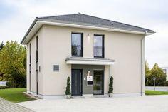 Softe Farbe für Ihre Fassadengestaltung. Live zu sehen beim Heinz von Heiden-Musterhaus in Lohfelden.