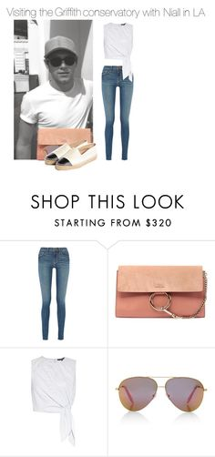 """""""Sin título #900"""" by amandasets ❤ liked on Polyvore featuring Frame Denim, Chloé, TIBI, Victoria, Victoria Beckham and Chanel"""