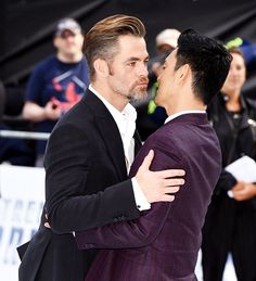 dailychrispine: John Cho and Chris Pine attend... - Life ebbs and flows