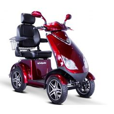 The Lovebird 2 Seat 4 Wheel Electric Mobility Scooter Is
