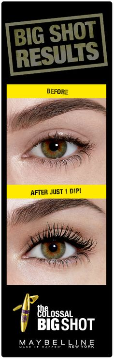 996ebdca253 Get big, bold, bossy lashes with fully loaded volume in one coat using  Maybelline