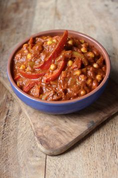 Chickpea & Red Pepper Curry, curry, vegetable, vegetarian, vegan, easy, healthy, recipe, spicy, gluten free, dairy free, recipe, quick, harriet emily