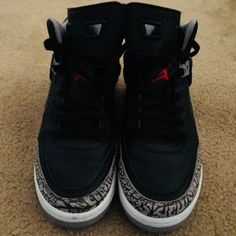new arrival 9d43c 0a610 Jordan Shoes   Grade School Jordan Spizike!   Color  Black Red   Size  6.5
