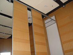 Operable Walls by Murano Acoustics, via Flickr