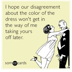 The color of the dress disagreement