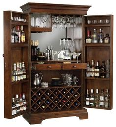 FreturnSonoma Hide-a-Bar modern cabinet and drawer organizers
