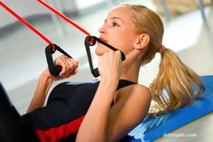 5 Exercises to Burn Fat with Resistance Bands - This workout is a great way to burn fat and tone at the same time. If your goal is to build muscle and gain definition, just up the resistance. For optimal results perform this workout 3 x's weekly.