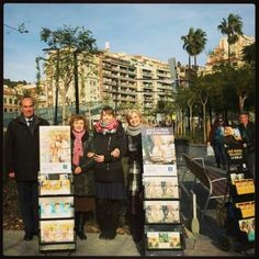 Public witnessing in Plaça Lesseps Barcelona. Thank you @carminamaryam