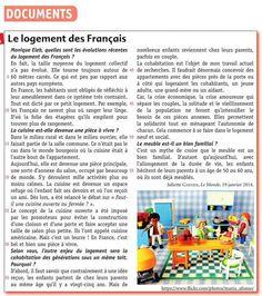 Le logement des Français  #image #logement #sociéte #France