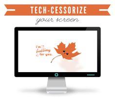 Tech-Cessorize: Weekend Fall Desktop Freebie | Wonder Forest: Design Your Life.