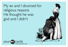 True Story, my ex husband told me he wanted me to put him on a pedistal. Just one of the reasons he's an ex husband.