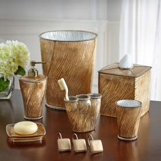 The Chantilly Bath Collection establishes a contemporary feel to y. Bathroom Collections, Basement Renovations, Bathroom Sets, Bathroom Accessories, Candle Holders, Kitchen Appliances, Contemporary, Bath Decor, Baths