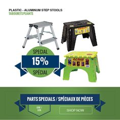 A variety of folding step stools 15% off. They're great for any room in your RV or house. Delivery and curbside pickup available.   #supportlocalbusiness #shoplocal Step Stools, Support Local Business, Rv, Delivery, House, Motorhome, Caravan Van, Haus, Home