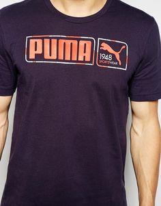 Bild 3 von Puma – T-Shirt mit mehreren Logos