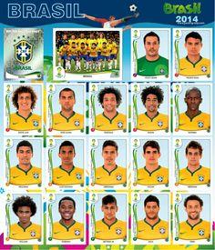 Equipo Brasil - Mundial Brasil 2014