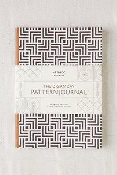 Art Deco Manhattan Dreamday Pattern Journal