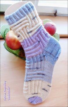 Fido … – knitting socks – Knitting for Beginners Crochet Socks, Knitting Socks, Knitting Stitches, Knitting Patterns, Baby Booties Knitting Pattern, Knit Baby Booties, Baby Knitting, Crochet Instructions, Crochet Slippers