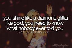 Carrie Underwood- Nobody Ever Told You lyrics