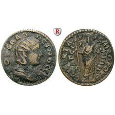 Römische Provinzialprägungen, Lydien, Thyateira, Salonina, Frau des Gallienus, Bronze, ss: Lydien, Thyateira. Bronze. Drapierte… #coins