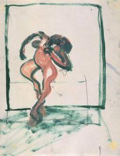 Frances Bacon / Turning Figure, c.1959-62