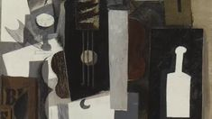 1913 | Guitar, Glass, and Bottle by Pablo Picasso Video, 2:08s The Museum of Modern Art