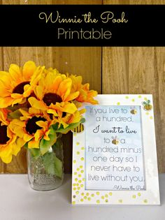 Free Winnie the Pooh Printable