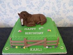 Horse Cakes SARAH TAGATZ, This needs to be Emma's next Birthday cake!! She would love it.