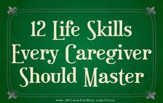 12 Life Skills for Lowering Caregiver Stress Committing to new habits that put your caregivers' own well-being at the top of the to-do list can help when caring for the person with Alzheimers or other form of dementia. Alzheimer Care, Dementia Care, Alzheimer's And Dementia, Caregiver Quotes, Caregiver Skills, Alzheimers Awareness, Alzheimers Quotes, Aging Parents, Home Health Care