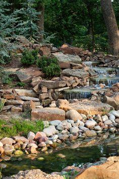 Garden Creek Water Feature