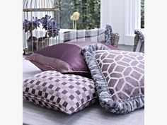 Spectrum Collection by Textiles Available from Rodgers of York Prestigious Textiles, Soft Furnishings, Spectrum, Comforters, York, Blanket, Bed, Collection, Creature Comforts