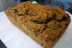 veggie juice pulp bread - you can't taste the veggies! Just like a sweet zucchini bread. #recipe #healthy #bread