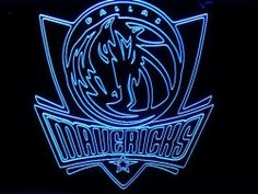 NBA Dallas Mavericks Team Logo Neon Light Sign (Blue) by NBA. $68.99. Engrave image on hard transparent acrylic plastic plate with aluminum tube cover. The color of the pictures shown here may vary from monitor to monitor. Metal chain is included for hanging or mounting on wall. Attractive when light off and eye-catching when light on. Brand new colored fluorescent 12inches x 9 inches (30cm x 22.5cm) light sign. * Brand new sign, never used * Overall size: Width: 30cm x Heigh...