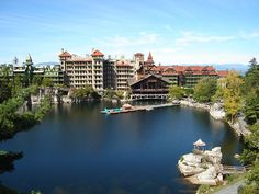 Mohonk Mountain House, one of my favorite places on earth.