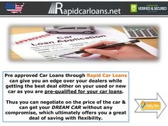preapproved-car-loans-with-bad-credit-the-ball-remains-in-your-court-when-buying-a-car by Carlos Evans via Slideshare