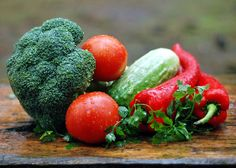 interesante #infografía de los tipos de #verduras y sus #beneficios para la #salud