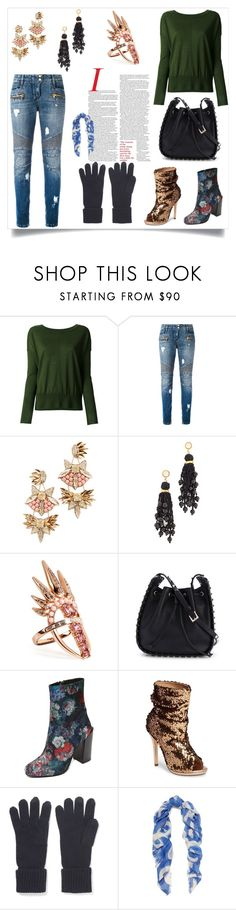 """""""Fashion for all"""" by kristeen9 on Polyvore featuring Forte Forte, Balmain, Deepa Gurnani, Lizzie Fortunato, Nikos Koulis, Valentino, Jeffrey Campbell, Lauren Lorraine, N.Peal and Proenza Schouler"""