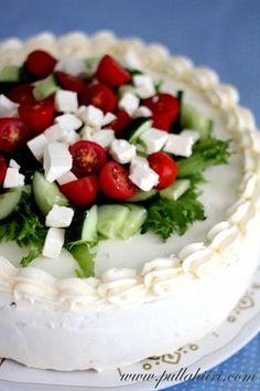 Pullahiiren leivontanurkka: Kreikkalainen voileipäkakku laktoosittomana