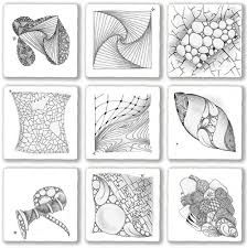 Image result for zentangle patterns how to draw
