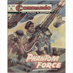 COMMANDO COMIC NO 1023 1976 TILLEYS of SHEFFIELD