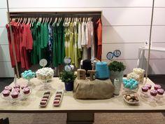 Presentación de la nueva colección de ropa de la firma Bárbara Torrijos