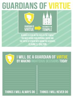 September: Commandments: Guardian of Virtue; All Things Bright and Beautiful