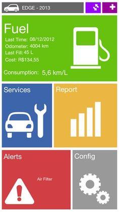 windows 8 UI for car APP
