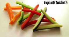 Vegetable twisties