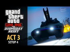 cool GTA Online: Doomsday Heist Act #3 - Setup: Khanjali (Elite & Mastermind II)