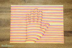 Presentamos unos sencillos pasos para dibujar su mano en 3D y hacer experimentos similares con esta técnica.