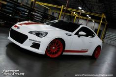 Subaru BRZ, developed in conjunction with Scion FRS.